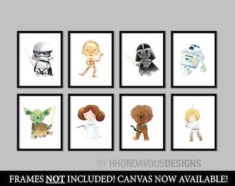 Star Wars Nursery Art. Baby Boy Nursery Print. Nursery Art. Nursery Decor. Star Wars Nursery Print. Star Wars Baby. Star Wars Poster. NS866