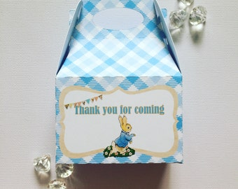 Peter Rabbit treat boxes