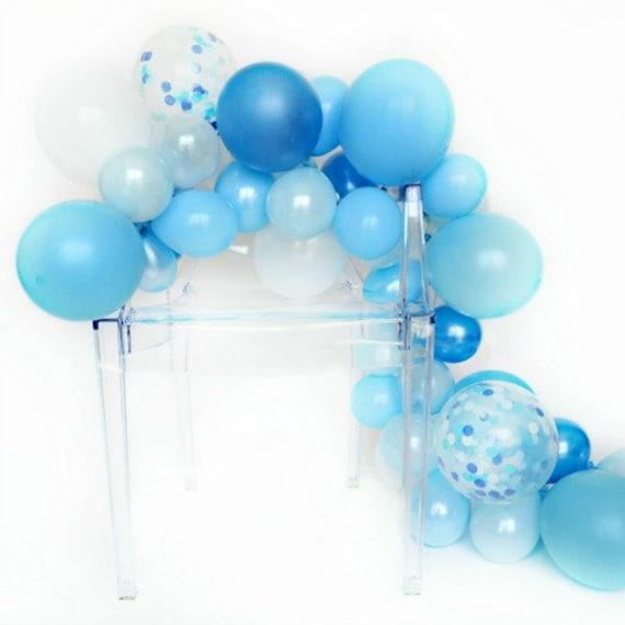 Balloon Garland Kit Oceana Shades Of Blue Balloon Garland