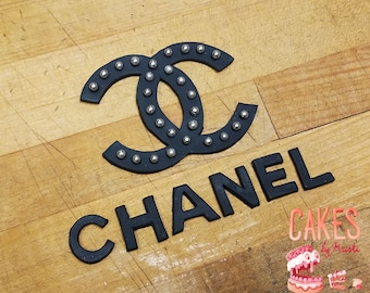 Chanel Fondant Cake Decorating Kit (MADE TO ORDER)