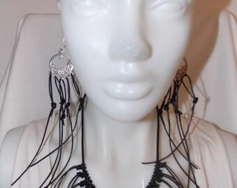 Extravagant earrings  pendant