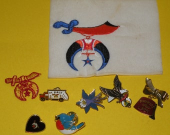 Vintage SHRINER Pins and more