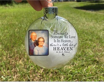 Personalized Christmas ornaments-photo Christmas ornament-memorial ornament-keepsake ornament-remembrance ornament-memorial gifts