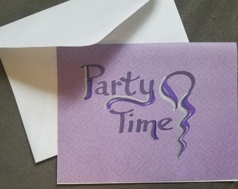 Calligraphy Hand Written Invitations