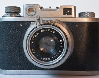 Very rare Well Standard Model I Japanese rangefinder camera