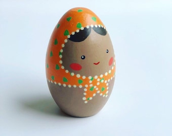 Egg Doll - Orange (Small)