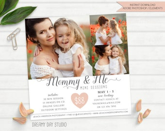 mothers day mini sessions, mommy & me mini, photography mini session, mini session template, photography template, mummy and me mini session