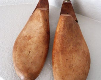 Vintage OAMCO MIller Shoe Lasts - Pair - 3269