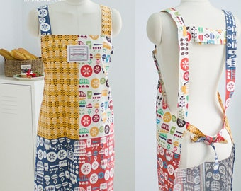 380 Cary Apron (3 Styles) PDF Sewing Pattern ONLY