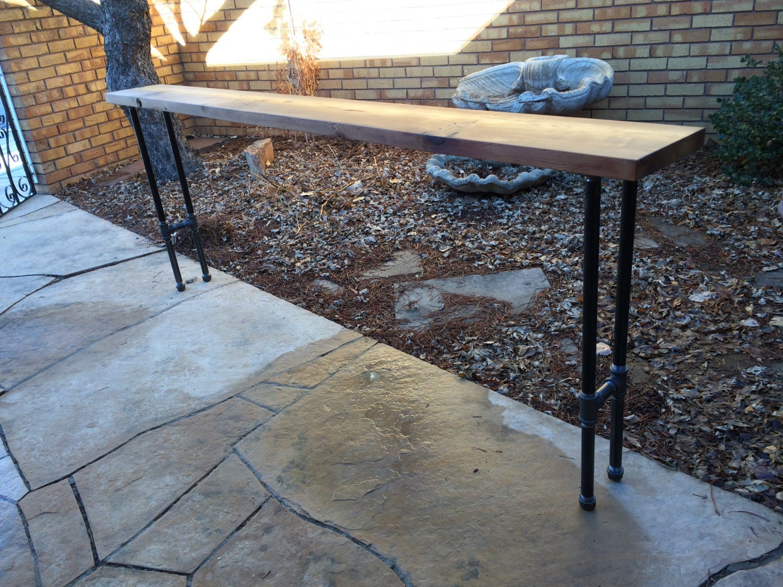 black iron pipe table. black iron pipe table. ?zoom table & Black Iron Pipe Table. Diy Pallet Iron Pipe. Pipe O Black Table L ...