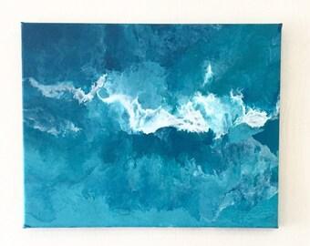 Aquamarine abstract