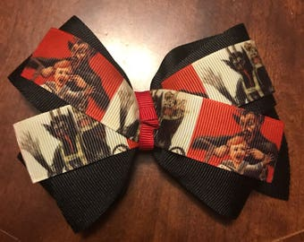 Clearance Krampus Hair Bow