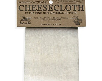 Cheesecloth UNBLEACHED for Kefir and Yogurt - Make Cheese