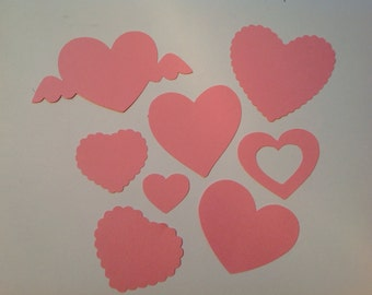 70 Valentine Cut Outs (855)