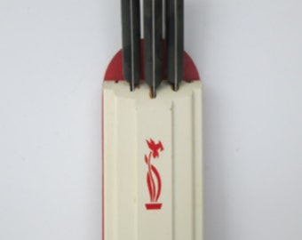 Wood Knife Rack