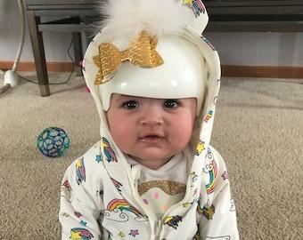 Baby Helmet Bows