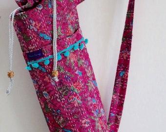 Yoga Mat Carrier Bag - Pink