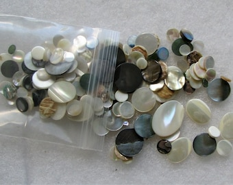 Mother-Of-Pearl Mixed Lot Stones Jewelry Repair/Design 1