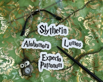 Slytherin stickers