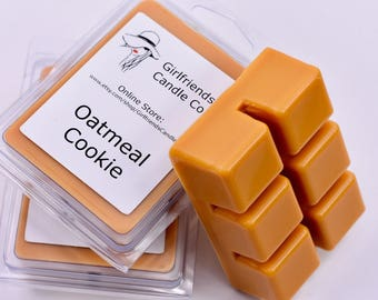 Oatmeal Cookie Scented Wax Melt Clamshell