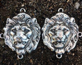 Lion Cloak Clasp Lion Cape Clasp Lion Accessories Lion Jewelry Lions