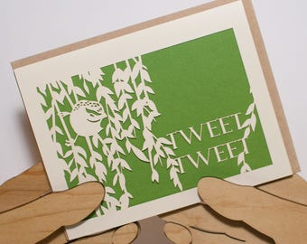 Tweet Tweet Card