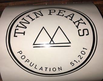 Twin Peaks Decal