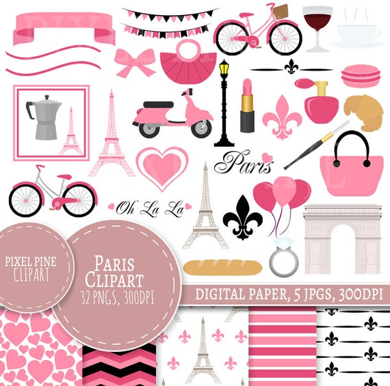 Pink 5 Clipart
