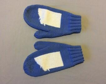 Hand Knit Merino Wool Montana Mittens