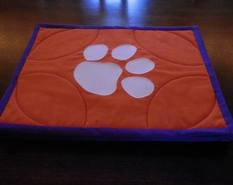 Clemson Placemats Set of Six
