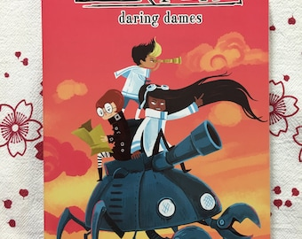 Tankadere Daring Dames anthology graphic novel
