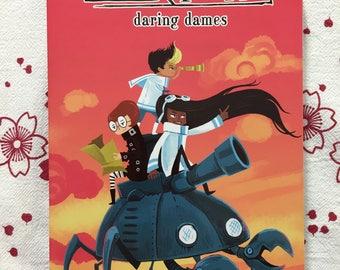Tankadere Daring Dames anthology graphic novel