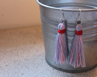 Handmade Cute Candy Tassel Earrings