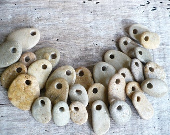 STONE BABIES...30 small pebbles,grey beach stones, natural bead, gift guide valentine jewelry supplies