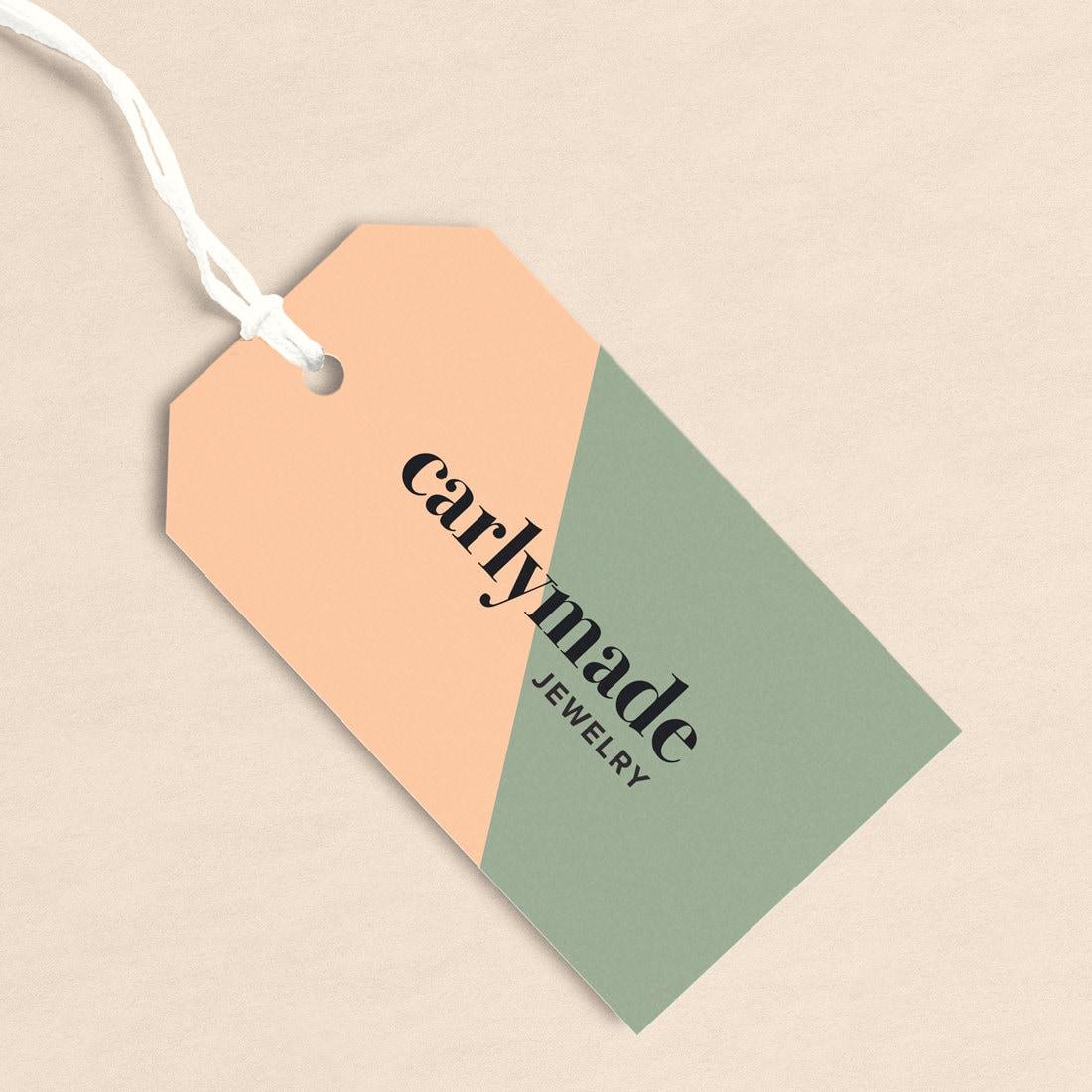 Fashion swing tag design