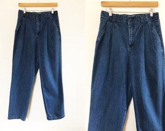 Cabin Creek | Vintage 1990u0027s Dark Blue, High Waist Jeans / Vintage Jeans /  High