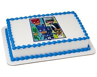 PJ Masks - Versus Edible Cake Topper