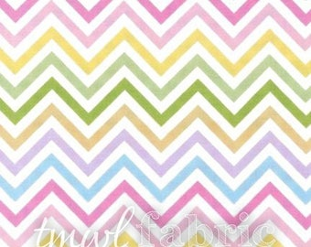 Woven Fabric - Spring Chevron - Fat Quarter Yard +