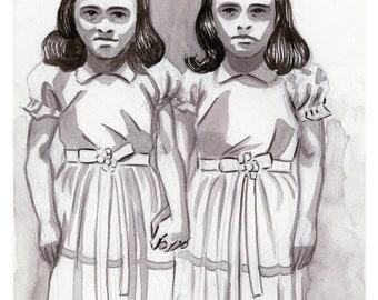 Grady Twins Print