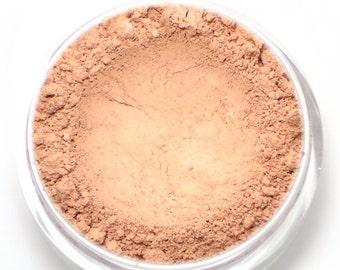 """Light Nude Pink Blush - """"Ballerina"""" (light nude pink blush, matte, 4.5g jar) - Vegan"""