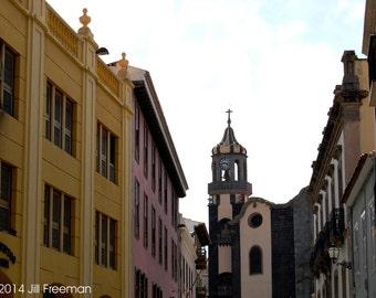 Street in Canary Islands, Spain - Photo Print