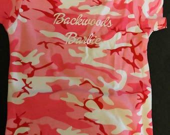 Pink Camp Backwoods Barbie  bodysuit