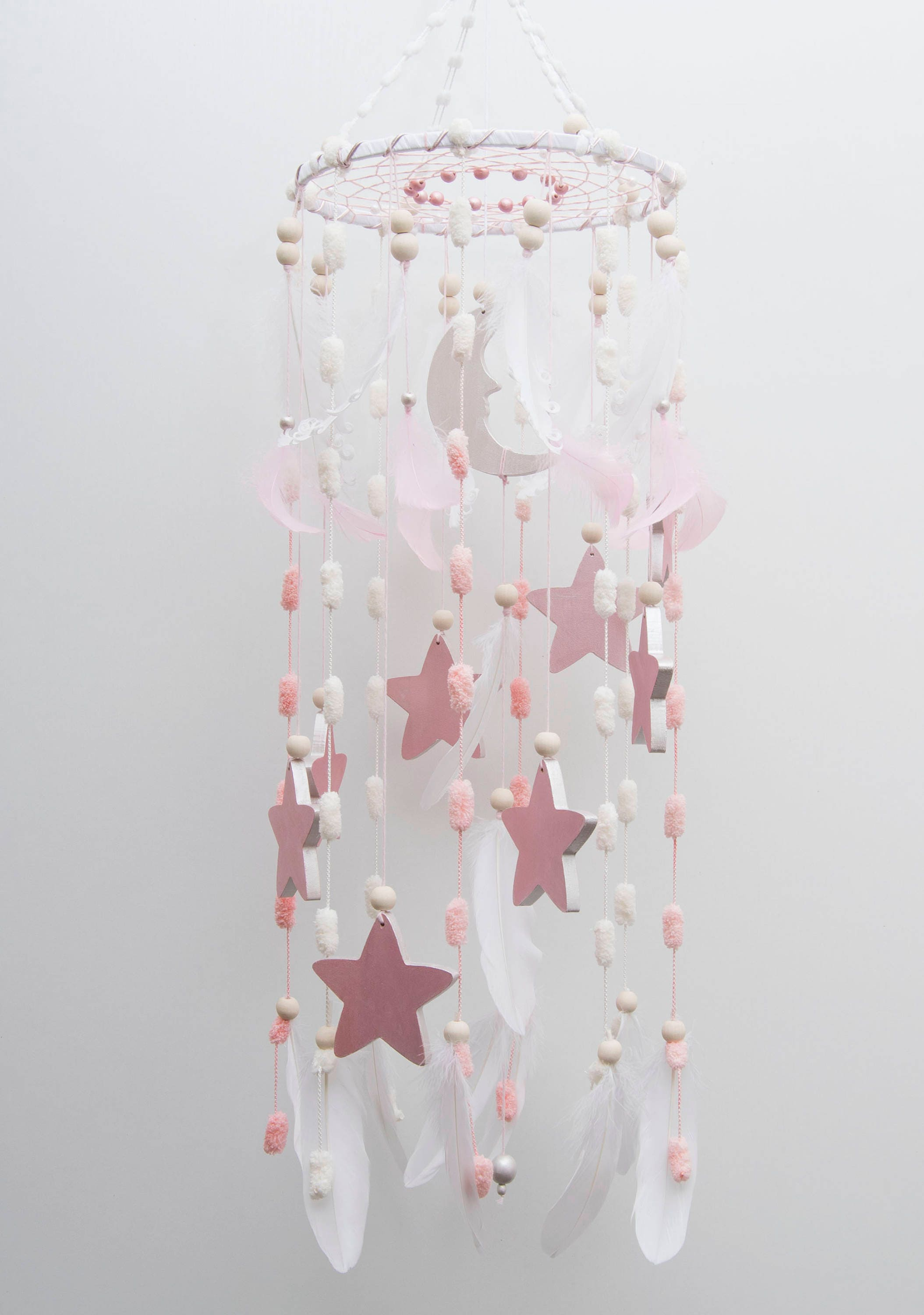 Stars mobile nursery decor woodland baby kids bedroom mobiles description stars mobile nursery arubaitofo Image collections