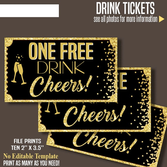 printable free drink tickets drink tickets 2 x