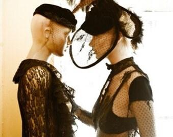 Burlesque Hat------By Stella Dottir