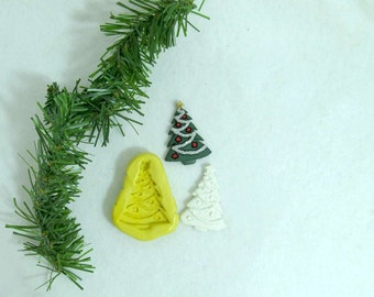 Christmas Tree mold,  silicone Christmas mold,Silicone,flexible silicone mold,food mold. craft mold, soap mold,clay mold, # 21 s