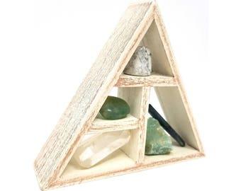 NEW BEGINNINGS Crystal Healing Kit / House warming gift set Boho Decor Raw natural healing crystals and stones  - 28