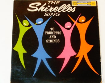 "RARE The Shirelles Sing to Trumpets and Strings - ""Mama Said"" - Soul - Original Mono Scepter Records 1961 - Vintage Vinyl LP Record Album"
