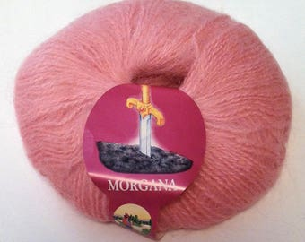Morgana Mohair Blend Yarn | DUSTY PINK | Lane Borgosesia | By-the-Skein | Best Selling Item
