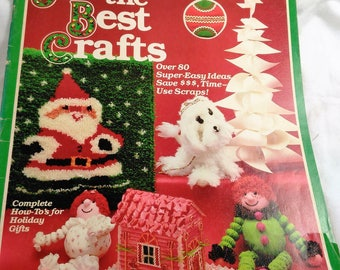 All The Best Crafts Magazine/Over 80 Super-Easy Ideas/Save Money/Time/ Use Your Scraps/ Great For Beginners/With Patterns (W)